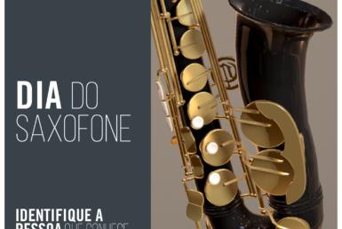 Comemoração do Dia do Saxofone